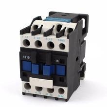 Мощность контактор переменного тока 1NO AC 220V 50/60 Гц катушки двигатель реле стартера 32A 3 фазы-Полюс