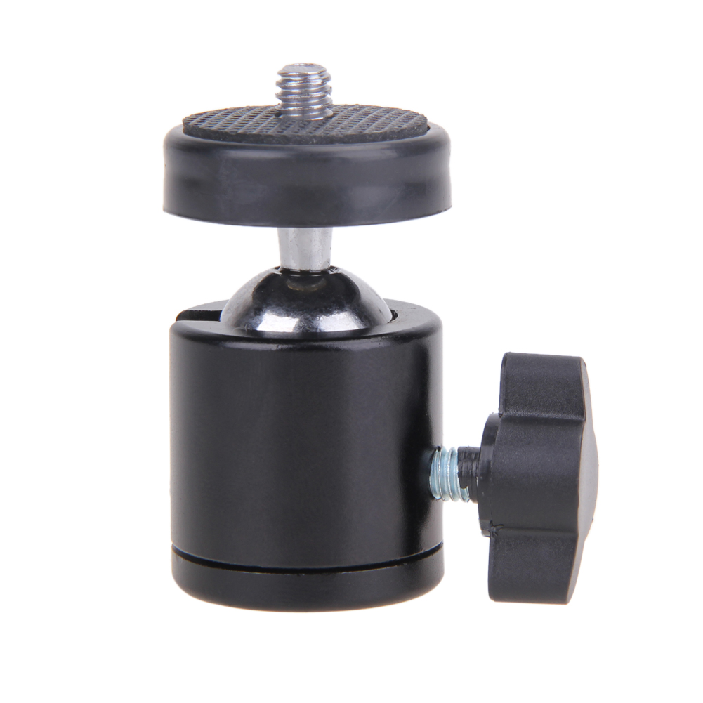 Mini Ball Head of 360 Swivel DSLR Camera Tripod Dsr +1/4Screw Mount Stand Mini Ball Head for camera tripod ballhead L3FE low price monitor head tripod camera telescope mini stand adjustable tripod free shipping page 8