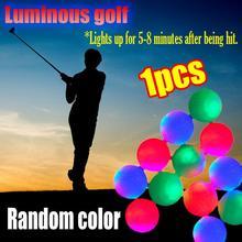 Golf Luminoso di Light up Palla Luminosa Palla Da Golf LED Palla Luminosa LED di Incandescenza di Notte Pallina Da Golf