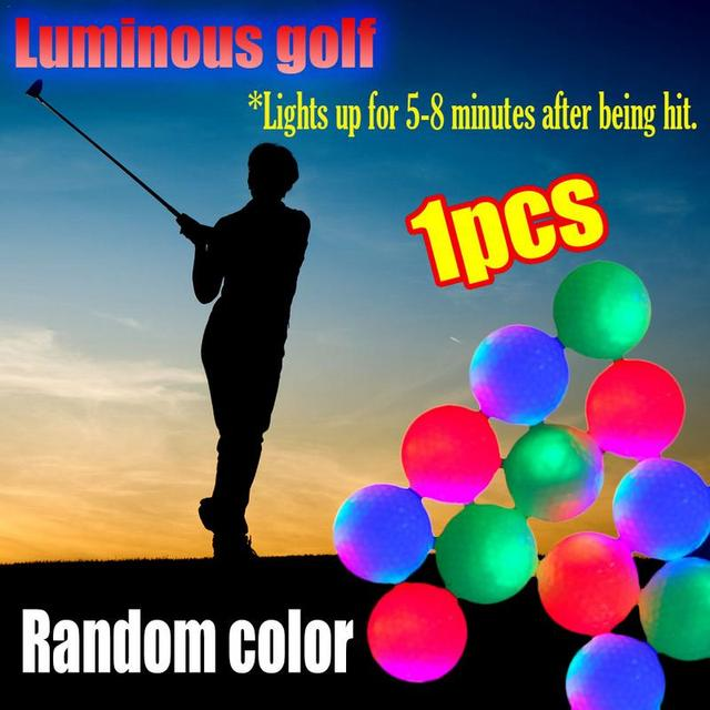 Golf Parlak Işık up Topu Işık Topu Golf LED Işık Topu LED Gece Kızdırma Golf Topu