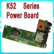 DC Power button Jack Board For ASUS KK52 X52J A52J K52J K52JR K52JT K52JB K52JU K52JE K52D 60-NXMDC1000 K52JR SWITCHBOARD