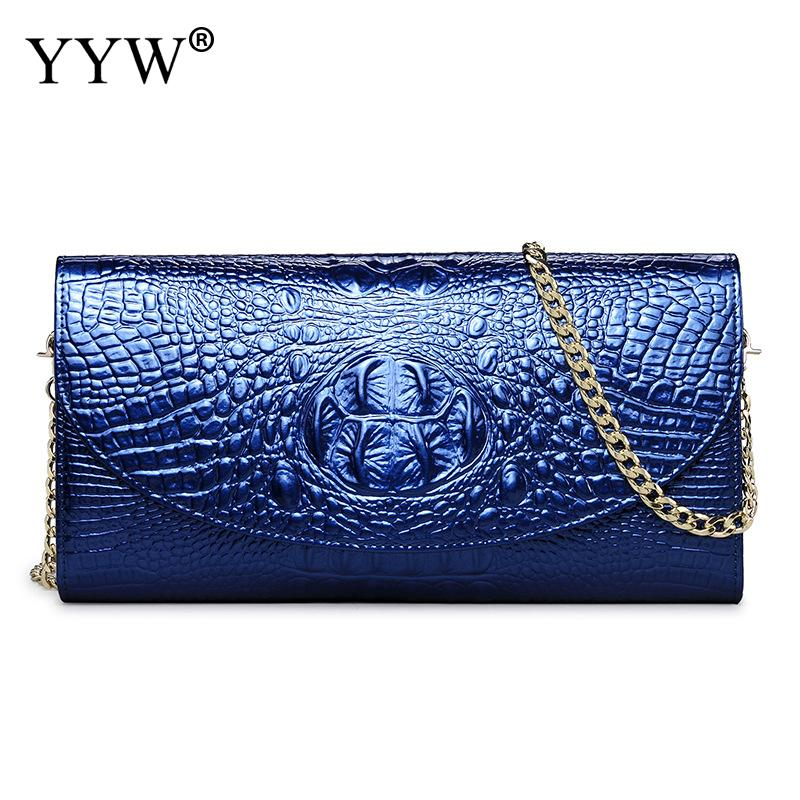 YYW Hot Leather Shoulder Clutch Bag 2018 New Arrive Women Lacquer Finish Evening Party Bags Rectangle Small Pochette Soiree yuanyu 2018 new hot free shipping true python leather women single shoulder small real snake leather small sweet women chain bag