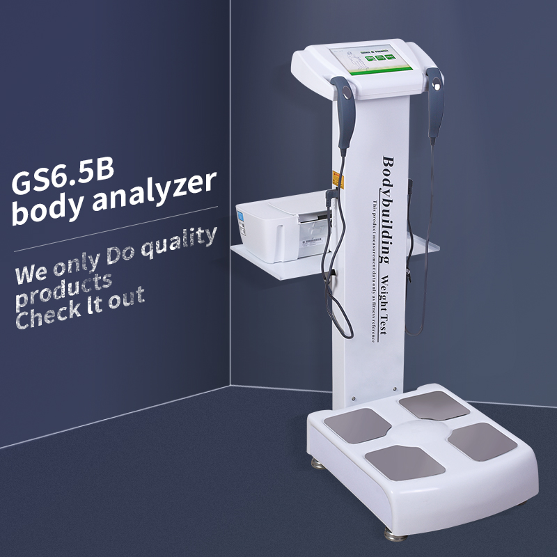 CE Certificated Electronic Human Body Height Weighing Scale GS6.5B Body Fat Analysis Scans For Home Use