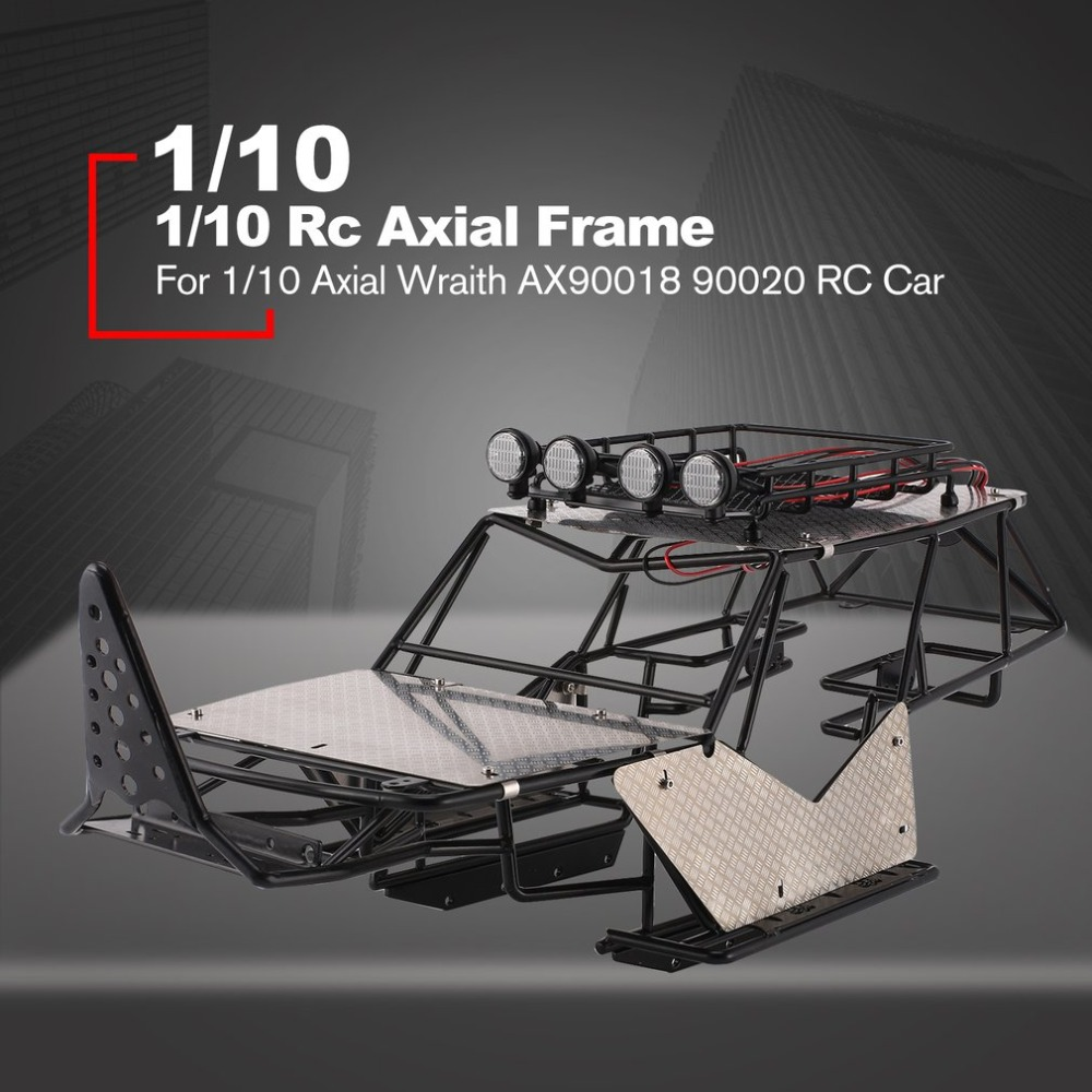 Metal Roll Cage Chassis Frame Rc Car Body With Roof Rack