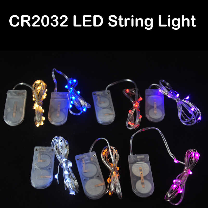 Hot Whole Battery Operated Led Copper String Light High Quality Small Ed Mini Christmas