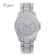Wonderful High quality Luxurious Watch Girls Quartz Watch Diamond Reloj Mujer Girls Watches Girls Waterproof Relogio Masculino Mar Three
