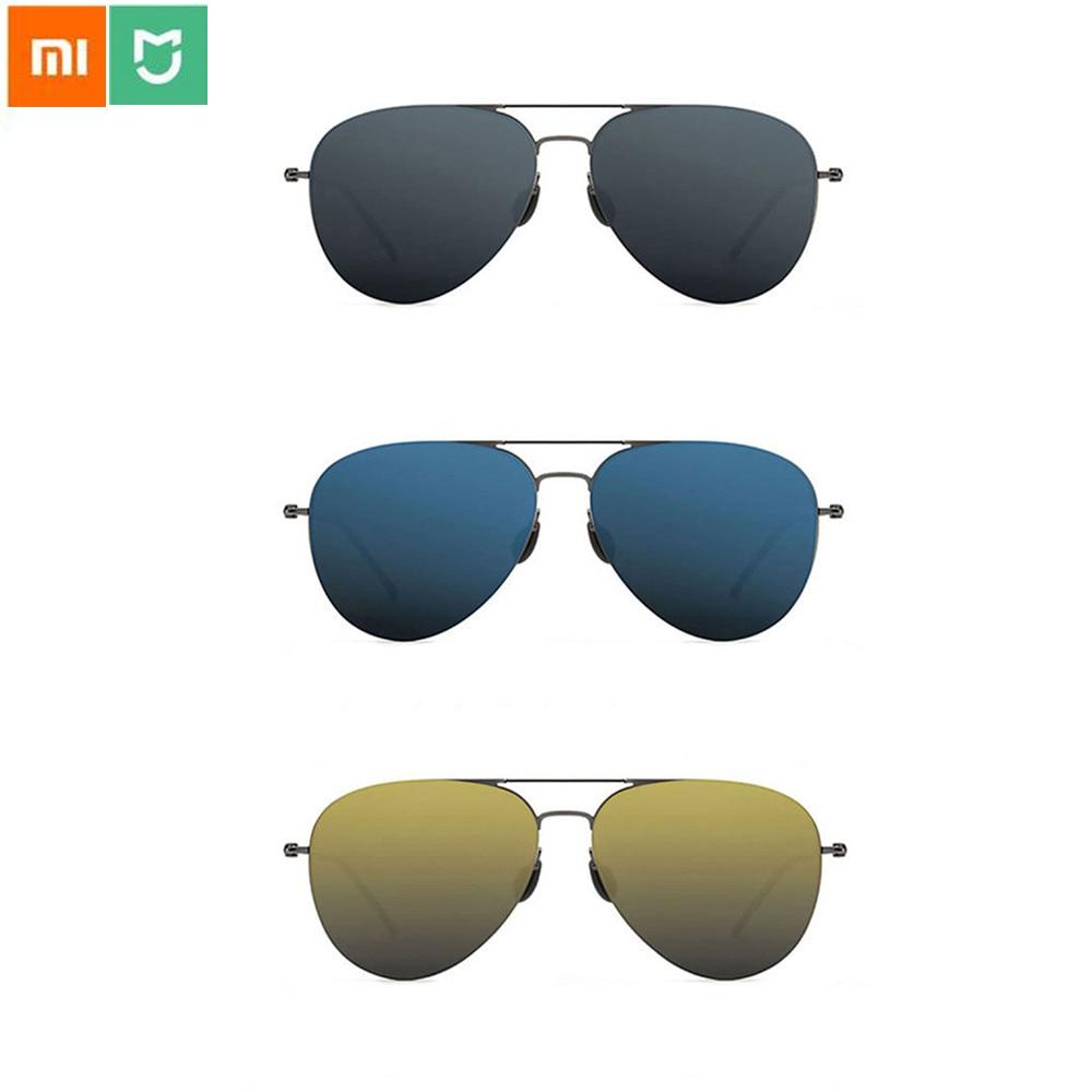 Xiaomi TS Brand Nylon Polarized Stainless Sun Lenses Glasses Colorful RETRO100% UV Proof for Travel Man Woman|Smart Remote Control| |  - title=