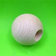 Неокрашенный бук Тама, дополнительный вес, обычный деревянный шар Kendama для DIY, бук шар Kendama(Неокрашенный), деревянный шар, шарик из бука