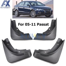 AX Spatlappen Splash Guards Mud Flap Spatborden Fender 2006 2007 2008 2009 2010 Set Spatlappen Voor VW Passat B6 3C 2005-2011 Sedan