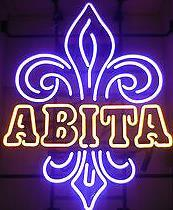 Abita  Glass Neon Light Sign