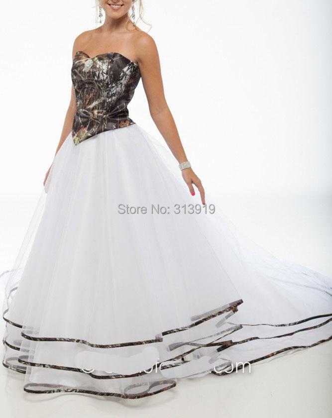 Wholesale Mossy Oak Wedding Dress _Wedding Dresses_dressesss