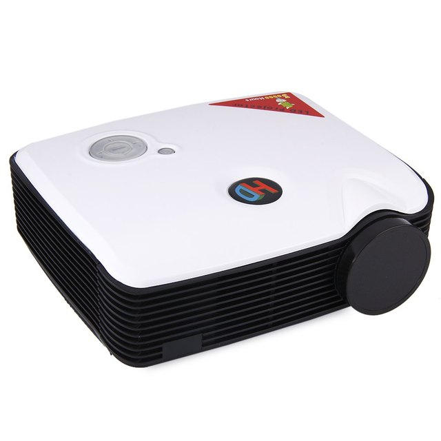 STA-ProHome PH5 2500 Lumens LED Projector 360 Degree Flip with HDMI USB Inputs EU Plug Projector for Home Business Education