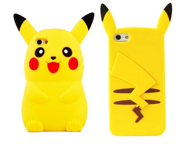 Pokemon GO Pikachu For iPhone 4 4s 5 5s SE 6 6s 7 6Plus 6sPlus 7Plus
