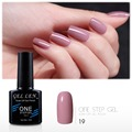Gel Len One Step Gel Polish Nail Soak off UV LED Gel Polish 3 in 1 Hot Sale New Arrival Gel Lacquer