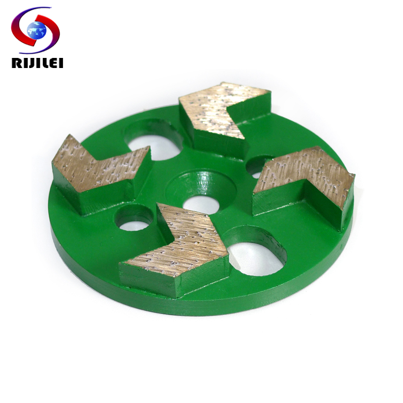 (3MDH-H) Free shipping 80mm/3inch Metal diamond polishing pads for concrete rough grinding, 3
