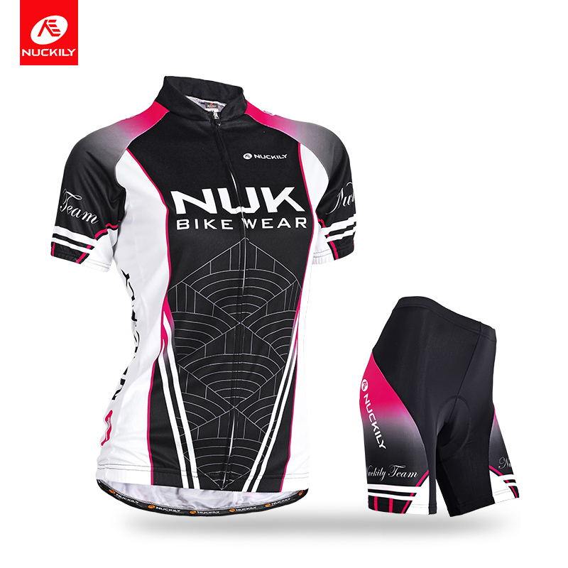 Nuckily Summer Cycling Jersey Jersey Set Transpirable Bicicleta de - Ciclismo