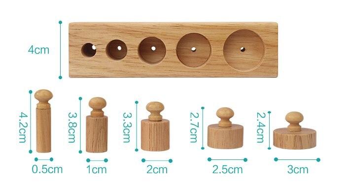 1-3 ans blocs en bois Montessori enseignement sida Intelligence de la petite enfance jouets éducatifs enfants apprentissage éducation enfants cadeau - 6