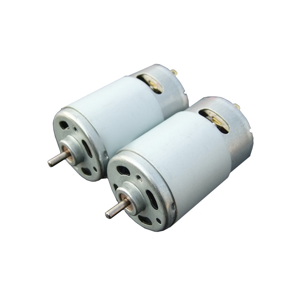 Wholesale high quality 555 dc motor large torque 24V 3500rpm toy car electric power DIY motor free shipping