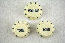 1 Set of Electric Guitar Control Knobs Mint Green With Dark Paint 1 Volume&2 Tone Knobs For ST SQ Electric Guitar цены