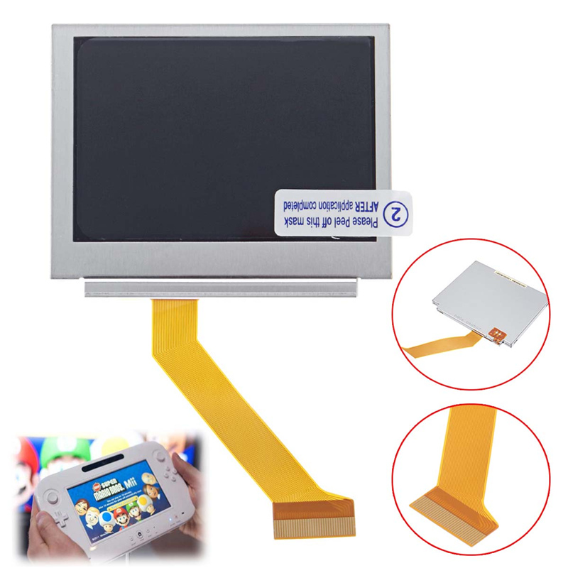 LCD Backlight Screen For GBA Replacement Parts For Nintendo For Game Boy Advance SP SP For GBA AGS-101 Top Upper Screen Repair [100set 200pcs] brand new rotating shaft hinge axle part for gba sp gameboy advance sp game console replacement
