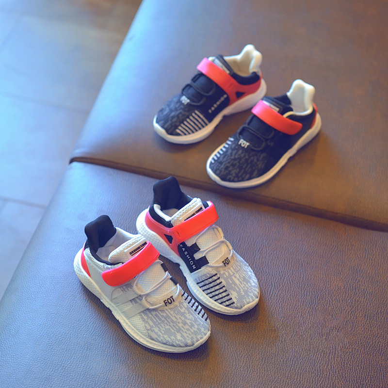 New Kids Sport Shoes Breathable Running Shoes Boys Girl Shoes Tennis Basketball Shoe Children Sneakers Spring Autumn 3 Colors