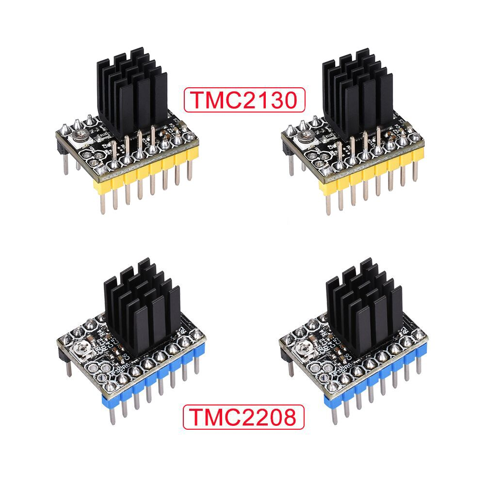 US $3 28 9% OFF|TMC2208 V2 0 TMC2130 V1 1 SPI Stepper Motor Driver For  Ramps 1 4 1 5 Ramps 1 6 MKS 3D Printer Board Reprap For 3D Printer Parts-in  3D