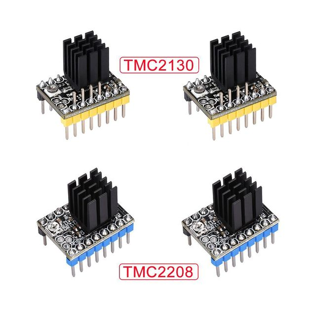 US $3 6 |TMC2208 V2 0 TMC2130 V1 1 SPI Stepper Motor Driver For Ramps 1 4  1 5 Ramps 1 6 MKS 3D Printer Board Reprap For 3D Printer Parts-in 3D  Printer