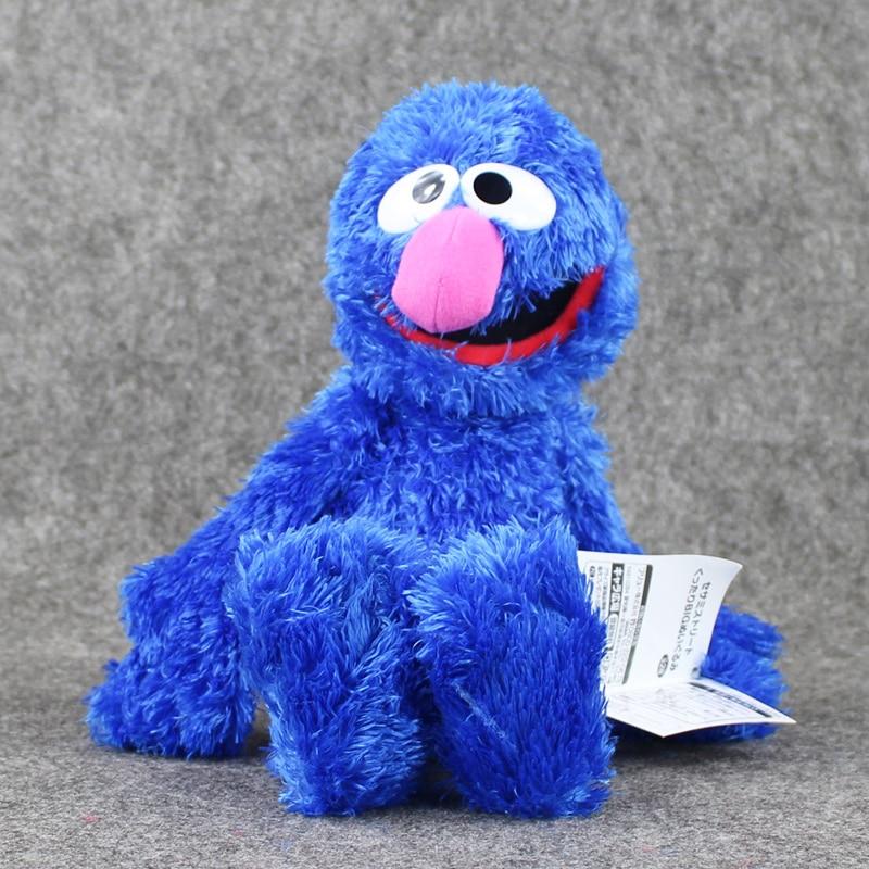 37cm Sesame street Dark Blue ELMO Plush Toys Soft Stuffed Doll Boys and Girls Collection Toys Birthday Gifts