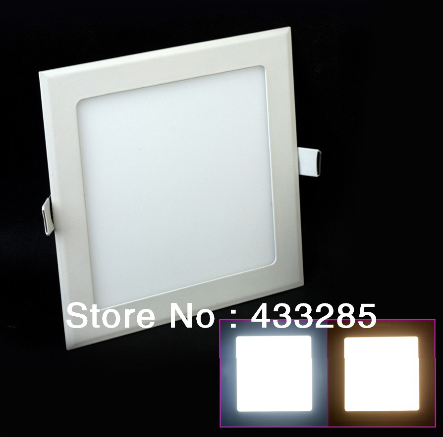 Free shipping 3w/4W/6W/9W/12W/18W led panel lighting ceiling light DownlightAC85-265V  Warm /Cool whiteindoor lighting