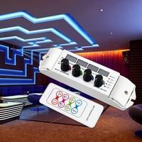LED RGB RGBW Strip LED Controller multi function light display controller, 4CH RGBW LED Controller for SMD 5050 2835 LED Light