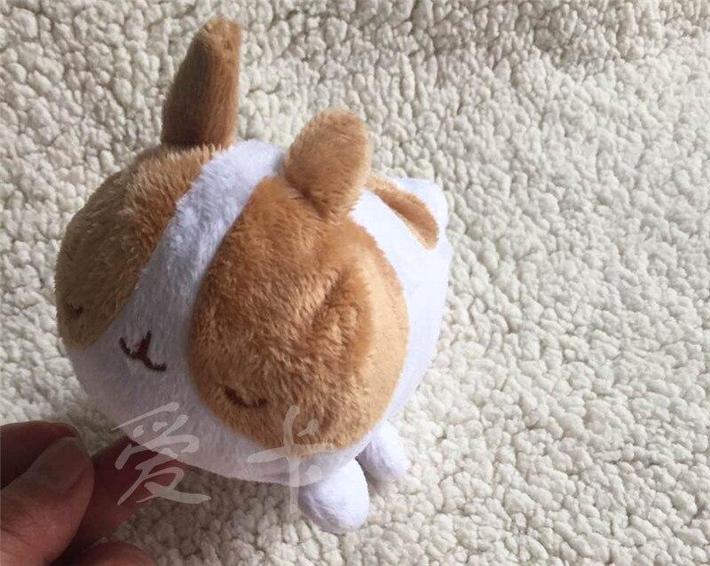 1Pcs Fashion Cartoon Cute Anime Molang Rabbit plush toy Potatoes bear stuffed Toy for kids birthday wedding gift 12cm super cute 1pc 33cm cartoon molang christmas wapiti rabbit bunny soft plush doll stuffed toy children valentine s day gift