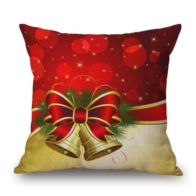 Cuscino Coperture Di Natale Decorativo Lino Piazza Coperte e Plaid Coperture per