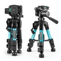 ZT22 Tripod Height Adjustable 360 Degree Rotating Bracket Lightweight Mini Tripod Durable Bracket SLR Camera/video Recorder, Etc
