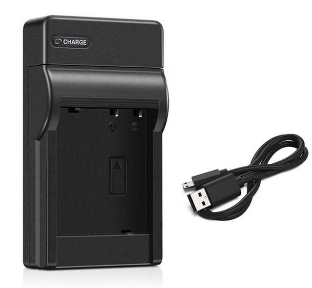 LCD USB Battery Charger for JVC Everio GZ-MS120RU GZ-MS130BUS Camcorder GZ-MS130BU GZ-MS120RUS