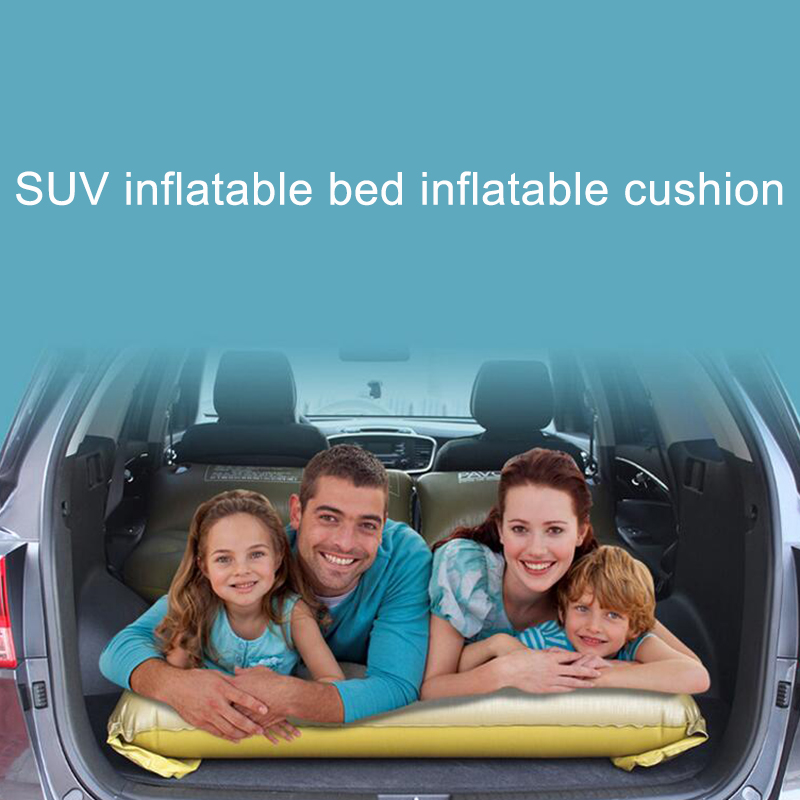 ФОТО 2016 Top Selling SUV Car Back Seat Cover Car Air Mattress Travel Bed Inflatable Mattress Air Bed Good Quality Inflatable Car Bed