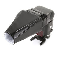 New Arrival Foldable Flash Speedlight Diffuser Sealed Snoot Reflector Beam For Canon Nikon Yongnuo Speedlite Light