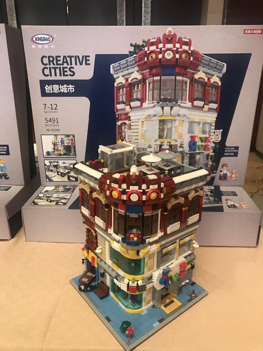 Իրական ստեղծագործական MOC City Series XingBao - Կառուցողական խաղեր - Լուսանկար 4