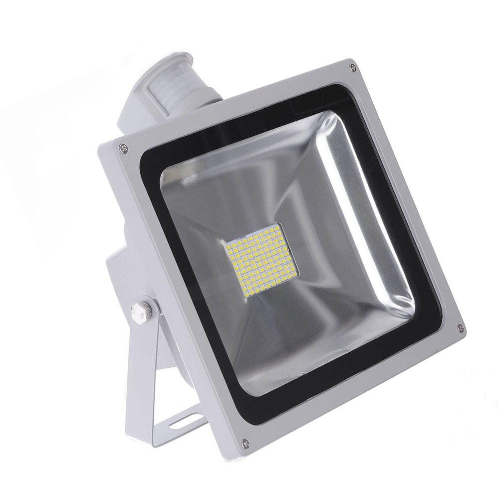 Outdoor Motion Sensor Led Floodlight 10w 20w 30w 50w Pir