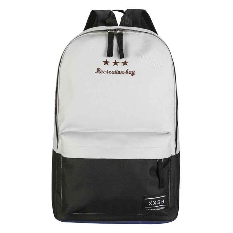 Повседневное полиэфирное волокно Для женщин рюкзак школьные сумки для девочек подростков ноутбука траве Рюкзак Mochila Escolar