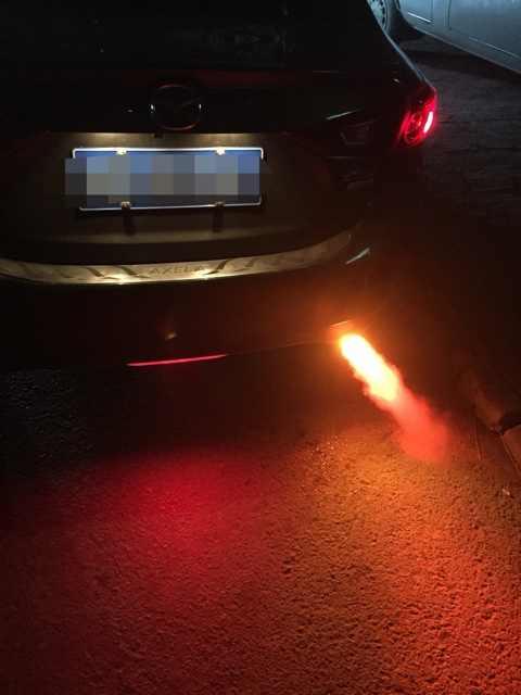 Uniwersalny samochód ze stali nierdzewnej urządzenie do rozpylania światła  ogon wydechowej gardła diody led zmodyfikowany wydechowy płomień Spray  Modulator światła|modulator|modulator car - AliExpress