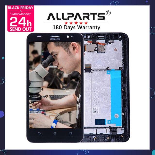 ORIGINAL No Dead Pixel ASUS Zenfone 2 ZE551ML Display LCD Touch Screen Digitizer Frame Zenfone 2 ZE551ML LCD Replacement Z00AD