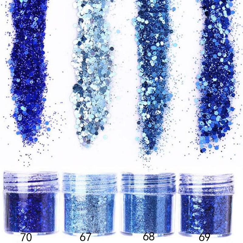Schönheit & Gesundheit 10 Ml Nagel Glitter Flake Mix 0,2mm-1mm Pailletten Sparkly 3d Hexagon Bunte Holo Pailletten Pulver 3d Maniküre Nagel Kunst Dekoration Delikatessen Von Allen Geliebt