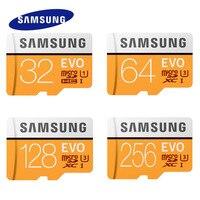2017 SAMSUNG microSD карта EVO + 64 Гб 16 Гб EVO Plus micro sd класс 10 32 Гб MicroSDHC/карта microSDXC 128 г UHS-I карта памяти 256 ГБ