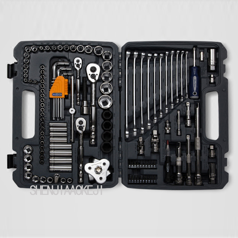 120 шт./компл. ремонт авто набор инструментов ремонт автомобилей пакет несколько наборов многофункциональный портативный набор инструменто...