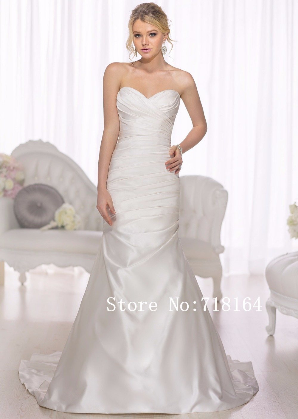 Aliexpress.com : Buy Country western cheap boda wedding dress satin ...