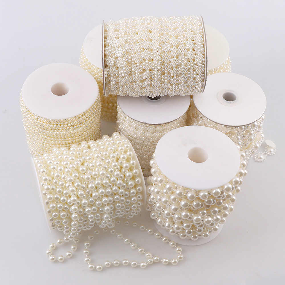 ABS Hạt Giả Hoa/Vòng/sao Chuỗi Ngọc Trai Cắt cho DIY Trang Trí Tiệc Cưới & Phát Hiện Đồ Trang Sức Thủ Công phụ kiện