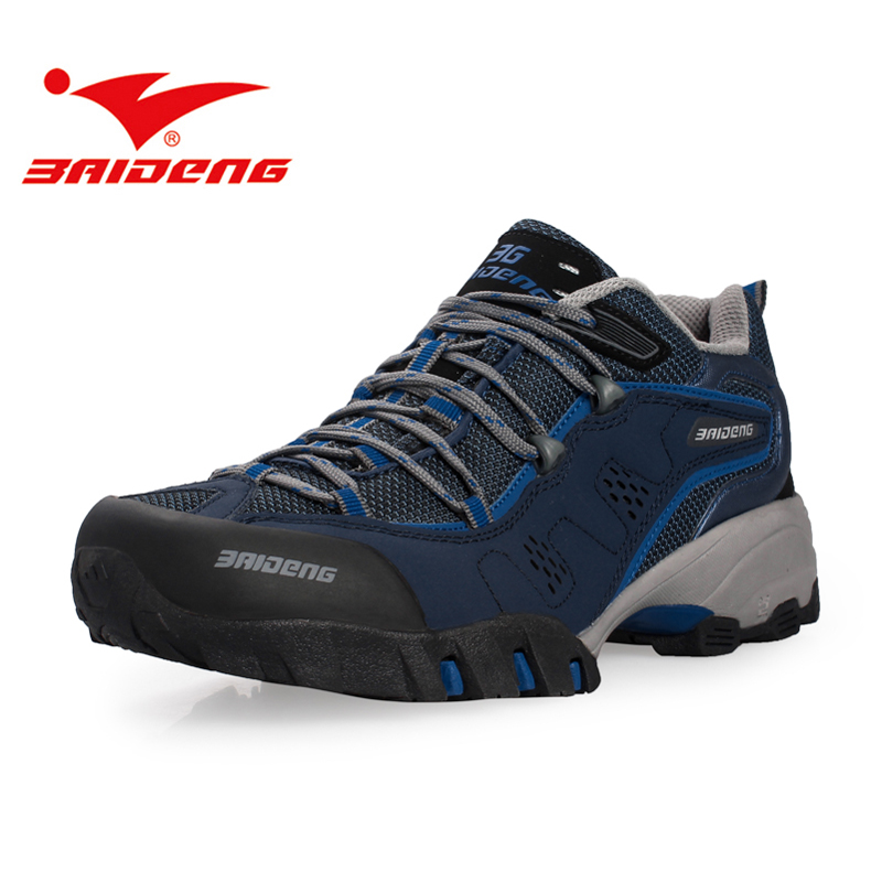 Baideng men women hiking shoes sneakers waterproof outdoor trekking sport Shoes Men Climbing Shoes zapatillas deportivas hombre 2017 running shoes men sneakers for men sport zapatillas deportivas hombre free run sneaker mens runners china wear resistant