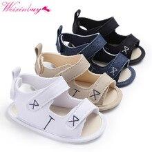 Baby Sandals Newborn Baby Boy Shoes Classic Canvas Fashion B
