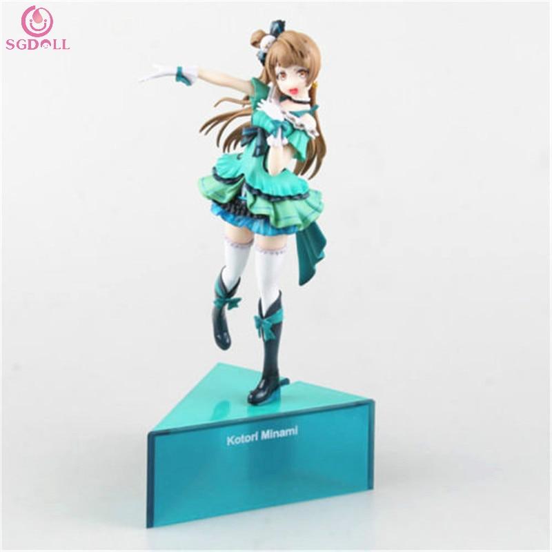 ФОТО [SGDOLL] 2017 New Hot Sale Love Live! Anime Kotori Minami Birthday Project 1/8 PVC Figure No Box  Free Shipping 5645-L