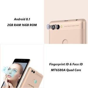Image 5 - Мобильный телефон LEAGOO POWER 2, Android 8.1, 5 дюймовый экран HD IPS, 2 ГБ ОЗУ 16 ГБ ПЗУ, MT6580A четыре ядра, двойная камера, распознавание отпечатков пальцев, 3G смартфон